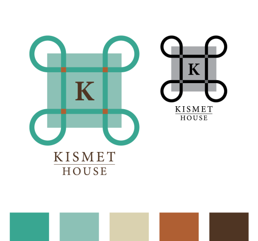 Kismet House Logo and Color Palette